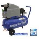 Vzduchový olejový jednovalcový kompresor 25 l / 1,5 kW / 8 bar ADLER
