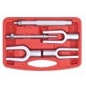 Sada vidlicových vyrážačov pre demontáž guľových čapov  18, 24, 29 mm