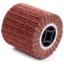 Valcový brúsny kotúč z netkaného vlákna a textília 100 x 100 x 19 mm  P80