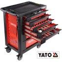 Dielenský vozík 7 zásuviek -  s náradím 211 ks YATO