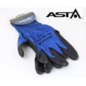 Pracovné ochranné rukavice  veľkosť  8  ASTA