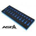 Penová vložka na náradie ASTA - prázdna