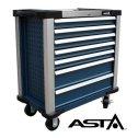 Dielenský vozík bez náradia 7 zásuviek XL - bez náradia ASTA